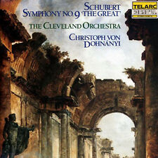 Schubert Symphony No. 9 (CD, Telarc West Germany Import) Von Dohnanyi, Cleveland