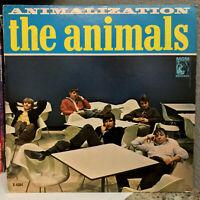 "THE ANIMALS - Animalization (1966 MGM E4384) - 12"" Vinyl Record LP - VG"