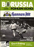 DFB-Pokal 84/85 Borussia Mönchengladbach - Eintracht Frankfurt, 21.11.1984