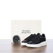 ALEXANDER MCQUEEN 540$ Women's Oversized Larry Sneaker In Black Leather