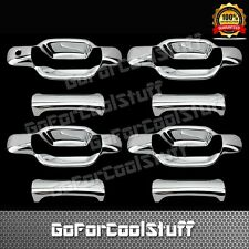 04-10 For Gmc Canyon 4 Doors Chrome Handle Cover W/Out Psg Keyhole