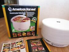 American Harvest Snackmaster 2400 Dehydrator Fd 50/30 550 Watts-4 Tray