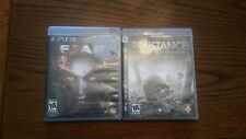 F.E.A.R. 3 (Sony PlayStation 3, 2011) TESTED,  & RESISTANCE FALL OF MAN