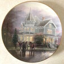 Bradford Decorator Plate, A Holiday Gathering by Thomas Kinkade