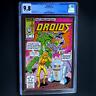 DROIDS #1 (1986) 💥 CGC 9.8 WHITE PAGES 💥 SCARCE! STAR WARS R2D2 C3PO Marvel