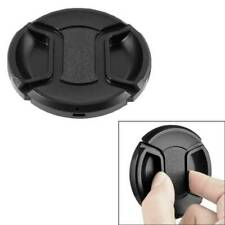 Black 77mm Front Lens Cap Hood Cover Snap-on for Nikon Canon Tamron Tokina Sigma