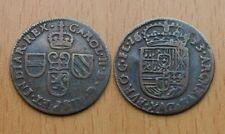 SPANISH NETHERLANDS, Flanders : Liard 1693 Oord ** Carolus II *** TOP *** Scarce