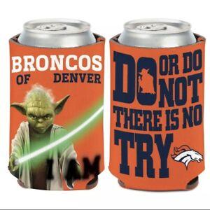 Denver Broncos Star Wars Double Sided Can Coolie NFL