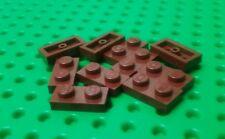 *NEW* Lego Brown Bricks 1x2 Stud Plates Trees Plants Star Wars - 10 pieces