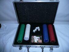 Poker Game Set in Aluminum Case