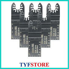 6 pc Bi-metal quick change oscillating multi tool saw blade for Black&Decker