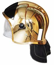 "Rescue Helmet Fire Fighter . Metallized coating ""Gold"" . Protective Glasses"