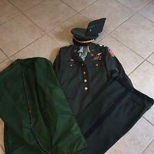 US ARMY Complete Suit Dress Coat, Patriot Pants, and Cap Men's Uniform EXCELLENT