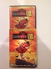 The Lion King 1 1/2 (DVD,2004,2-Disc, Limited Edition)Authentic US Release