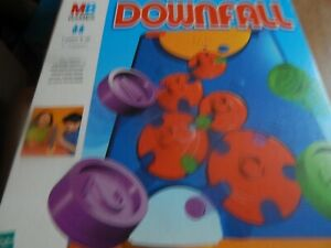 Vintage Downfall Game, MB Games Hasbro 1999 Complete With Instructions Vgc