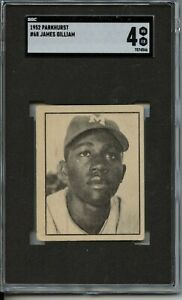 James Gilliam 1952 Parkhurst # 68 - SGC 4