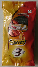 Bic 3 Sensitive Disposable Razor Blade 1 pack of 8 Pcs