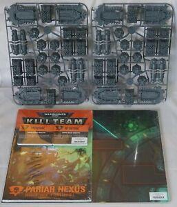 Warhammer 40,000 Kill Team Pariah Nexus Rules Board + Terrain (No Miniatures)