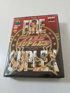 SNK Neo Geo AES FIRE SUPLEX ( 3 Count Bout ) Japan 0610A13