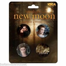 Twilight Saga New Moon Team Edward Cullen Bella Swan Button Set of 4 Party Favor