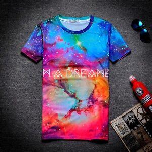 I'm a Dreamer T-Shirt [colourful stars fresh graffiti unique hipster tie dye]