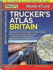 Philip's 2018 Trucker's Atlas Britain (Philips Road Atlas) by Philip's Maps | Sp
