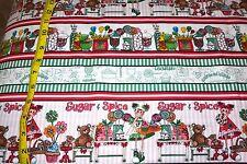 Gumdrops & Lollipops STRIPE Pattern Cotton Fabric Quilting Treasures