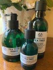 The Body Shop | Tea Tree Bundle | Face wash, Daily Solution and Hand Wash | New
