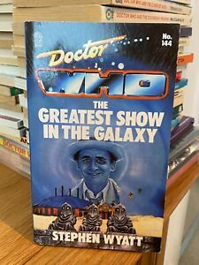 doctor who target book -  THE GREATEST SHOW IN THE GALAXY - 1st edition