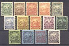 Barbados #165-79 Mint - 1925-35 Colony Badge set ($91)