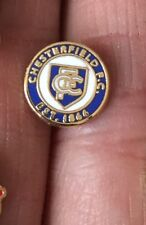 CHESTERFIELD TINY ROUND CREST ENAMEL PIN BADGE