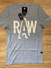 G Star New Mens Slim Fit Blue Large T Shirt RRP £25