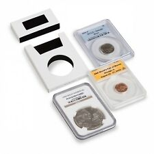 10 Coin Slab Protectors Intercept Shield Full Covers Certified Graded Storage