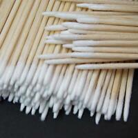 600pcs Swab Cotton Applicator Q-tip Extra Swabs Wood Handle Sturdy Clean-sticks-