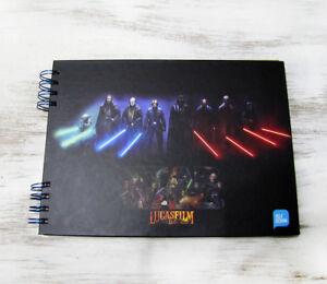 Star Wars jedi masters writing,drawing  journal-photo album/Sketchbook journal