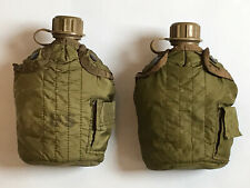 Vietnam US Army M1967 M67 Canteens Water Bottle (Complete Matched Set)