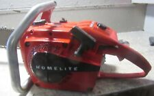 "VINTAGE COLLECTIBLE HOMELITE XL-944 CHAINSAW WITH 32"" BAR"