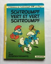 BD - Schtroumpf vert et vert schtroumpf T 9 / EO 1973 / PEYO / 2 histoires