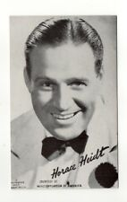 Horace Heidt 1940's-50's Mutoscope Music Corp of America Arcade Card Postcard