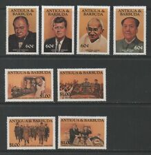 Thematic Stamps People - ANTIGUA 1984 FAMOUS PEOPLE 888/95 mint