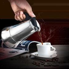 Moka Induction Italian Stove-Top Espresso Coffee Maker 9 Cup Coffee Pot