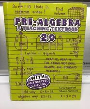 Teaching Textbooks Pre-algebra (2.0 Version) CDs Only