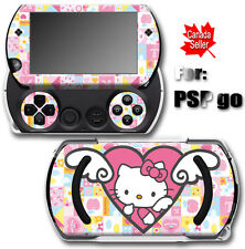 Hello Kitty Pink CAT SKIN STICKER COVER for SONY PSP Go