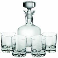 Ravenscroft Crystal Buckingham 32 oz Whisky Decanter 5-piece Gift Set, Lead-Free