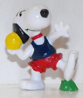 Snoopy Shotput 2 inch Plastic Figurine Peanuts Track Shot Put Figure SNP049