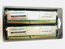 Super Talent 2GB ( 1GB X 2) PC2-4200 ECC Fully Buffered CL4 DIMM T533FB1G
