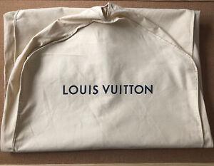 Authentic Louis Vuitton Garment Bag Dress Suit Dust Cover