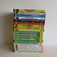 Lot Of 19 Sesame Street And Elmo DVDs