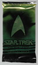 1996 Star Trek The Card Game sealed Booster Pack 15 cards