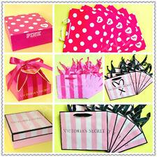 VICTORIA'S SECRET PINK DOG, STRIPE MEDIUM Small GIFT Shopping BAG BOX LOT U pick